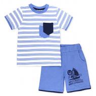 15-252112 Костюм для мальчика, 2-5 лет, синий