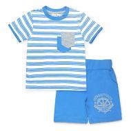 15-252114 Костюм для мальчика, 2-5 лет, голубой