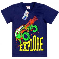 """15-480143 """"Explore"""" Футболка для мальчика, 4-8 лет, синий"""