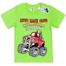 """15-480145 """"Speedway"""" Футболка для мальчика, 4-8 лет, салатовый"""