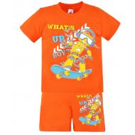 15-582103 Комплект для мальчика, 5-8 лет, оранжевый