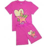 15-58232 Комплект для девочки, 5-8 лет, лиловый