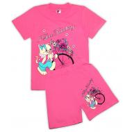 15-58233 Комплект для девочки, 5-8 лет, розовый