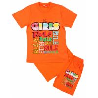 """5822-23 """"GIRLS"""" Комплект для девочки, 5-8 лет"""