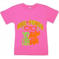 "15-9130202 ""STYLE"" футболка для девочек 9-13 лет, фуксия"