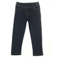 17-12411 Леггинсы джинсовые для девочки, 3-7 лет