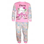 17-13230 Пижама для девочки, 2-5 лет, розовый