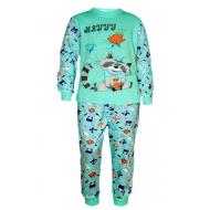 17-13236 Пижама для мальчика, 2-5 лет, мятный