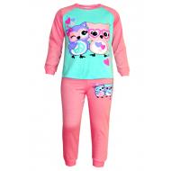 17-13238 Пижама для девочки, 6-9 лет, розовый