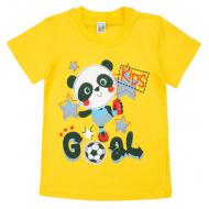 17-250107 Футболка для мальчика, 2-5 лет, желтый