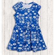 17-378012 Платье для девочки, 3-7 лет, синий