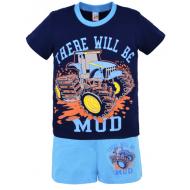 17-692101 Комплект для мальчика, 6-9 лет, голубой\синий