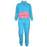 17-71116811 Спортивный костюм для девочки, 7-11 лет, бирюзовый