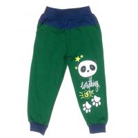 17-9103 Брюки для мальчиков с карманами, 2-5 лет, зеленый