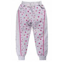 17-9104 Брюки для девочек с карманами, 2-5 лет, серый