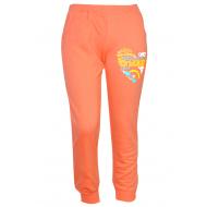 17-691835 Брюки для девочек с карманами, 6-9 лет, персиковый