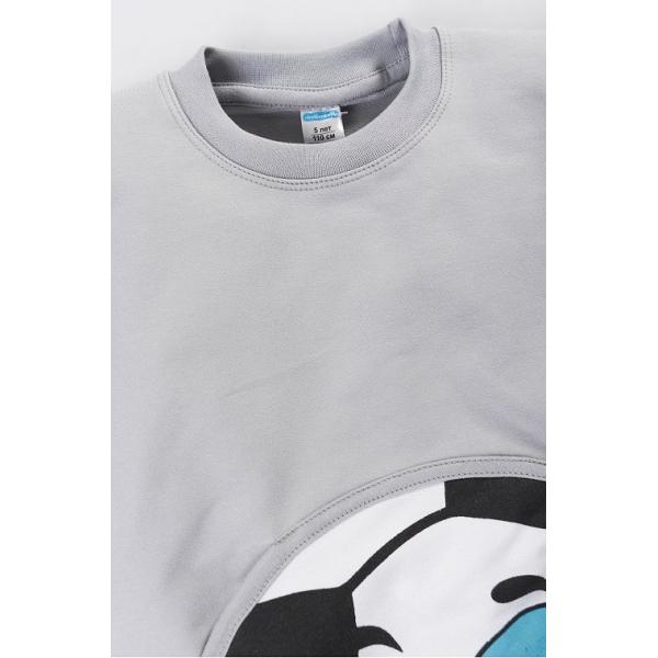 "11-251115 ""Football"" Толстовка с карманом, 2-5 лет, серый"