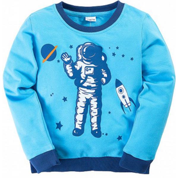 "11-378123 ""Spacer"" Костюм для мальчика, 3-7 лет, бирюза"