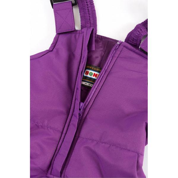 20-00102 Полукомбинезон утепленный, 2-8 лет, фиолетовый