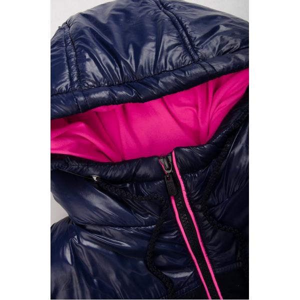 20-03601 Жилет на молнии с капюшоном, 7-11 лет, розовый