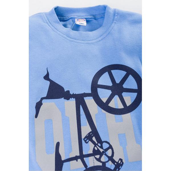 "20-46711 ""Bike"" Джемпер, 5-8 лет, голубой"