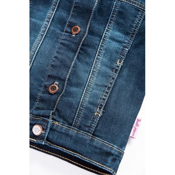 20-741  Куртка джинсовая для девочки, 2-5 лет