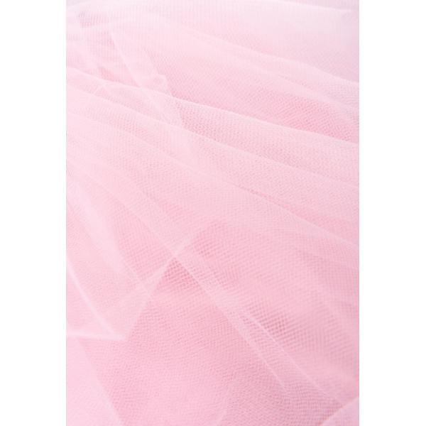 20-88802 Платье с фатином, 2-6 лет, меланж