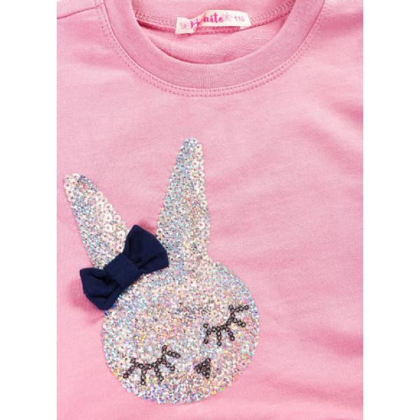 20-88804 Платье с фатином, 2-6 лет, розовый