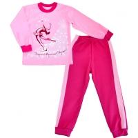 "l-0355d ЛЕО. Пижама для девочки ""Фигуристка"""