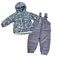 Комплект куртка (мех)+ полукомбинезон