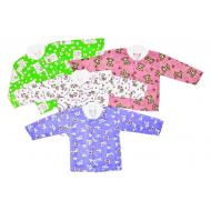 22-0911-6 Кофта с начёсом для новорожденных, футер, 62-80