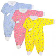 22-01261-5 Комбинезон с начёсом для новорожденных, футер, 62-80
