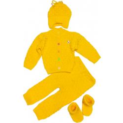 """42-020603 """"BABY"""" Комплект 4 предмета, 74-80, желтый"""