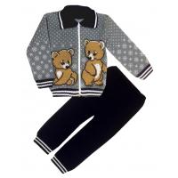 42-0525 «МИШКИ» костюм для мальчика, 92-98