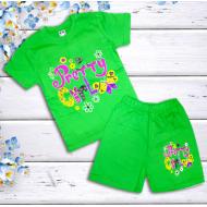 47-142204  Комплект для девочки, 1-4 года, зеленый