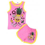47-1422071  Комплект для девочки, 1-4 года, розовый