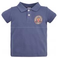 47-58701 Рубашка поло для мальчика, пике, 5-8 лет, графит