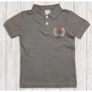 47-14701 Рубашка поло для мальчика, 1-4 года, графит
