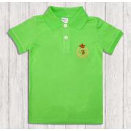 47-14703 Рубашка поло для мальчика, 1-4 года, салатовый
