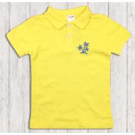47-14706 Рубашка поло для мальчика, 1-4 года, жёлтый