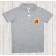 47-14709 Рубашка поло для мальчика, 1-4 года, меланж