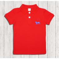 47-14710 Рубашка поло для мальчика, 1-4 года, красный