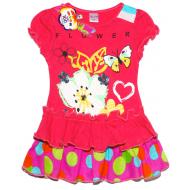 47-26306 Платье для девочки, 2-6 лет, коралловый