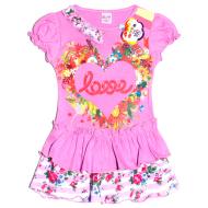 47-26308 Платье  для девочки, 2-6 лет, сиреневый