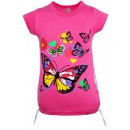 47-37802 Туника для девочки, 3-7 лет, т-розовый