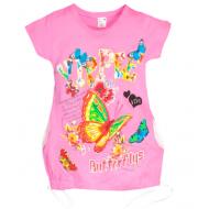 47-37806 Туника для девочки, 3-7 лет, розовый