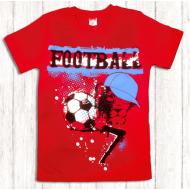 47-9120101 Футболка для мальчика, 9-12 лет, красный