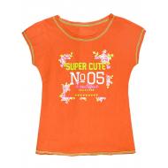 "50-02024 ""Super Cute"" футболка для девочек,128"