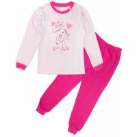 "50-020012 ""HELLO"" Пижама для девочки, розовый"