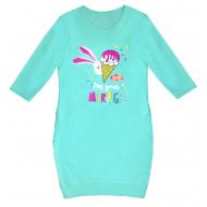 50-02037 Платье для девочки, ментоловый